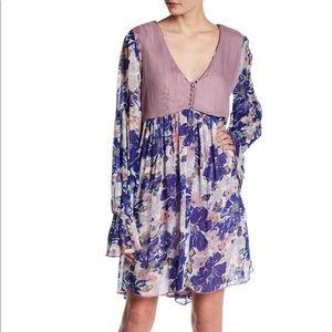 🆕 Free People Alice Vested Floral Print Dress M